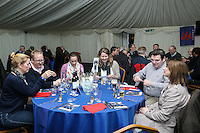 Pre match hospitality ahead of the Greene King IPA Championship match between London Scottish Football Club and Nottingham Rugby at Richmond Athletic Ground, Richmond, United Kingdom on 16 October 2015. Photo by David Horn.