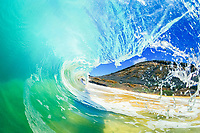 breaking wave, Sandy Beach, Island of Oahu, Hawaii, Pacific Ocean
