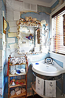 kitschy bathroom