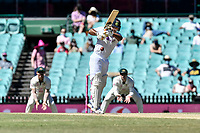 11th January 2021; Sydney Cricket Ground, Sydney, New South Wales, Australia; International Test Cricket, Third Test Day Five, Australia versus India; Manish Pandey of India batting
