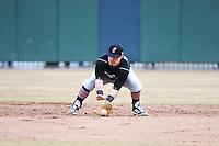 Cincinnati Bearcats infielder Ryan Quinn (30) during 1st game of double header against the St. John's Redstorm at Jack Kaiser Stadium on March 28, 2013 in Queens, New York. St. John's defeated Cincinnati 6-5.      . (Tomasso DeRosa/ Four Seam Images)