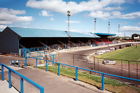 General view of Cowdenbeath FC, Central Park Stadium, Cowdenbeath, Fife, Scotland, pictured on 24th July 1999