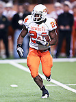Oklahoma State Cowboys running back Kendall Hunter (24) in action during the game between the Oklahoma State Cowboys and the University of Texas in Austin Texas Longhorns at the Daryl K. Royal- Texas Memorial Stadium in Austin, Texas. The Oklahoma State Cowboys defeated the Texas Longhorns 33 to 16.