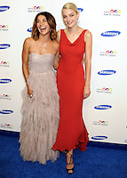 NEW YORK CITY, NY, USA - JUNE 10: Jessica Szohr, Jessica Stam at the 13th Annual Samsung Hope For Children Gala held at Cipriani Wall Street on June 10, 2014 in New York City, New York, United States. (Photo by Celebrity Monitor)