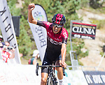 Ivan Ramiro Sosa Cuervo (COL) Team Ineos wins Stage 5 of the Vuelta a Burgos 2020, running 158km from the Covarrubias to Lagunas de Neila, Spain. 1st August 2020. <br /> Picture:  Dani Sanchez | Cyclefile<br /> <br /> All photos usage must carry mandatory copyright credit (© Cyclefile | Dani Sanchez)