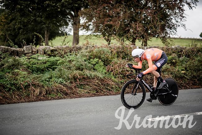 Dylan van Baarle (NED/Ineos)<br /> Elite Men Individual Time Trial<br /> from Northhallerton to Harrogate (54km)<br /> <br /> 2019 Road World Championships Yorkshire (GBR)<br /> <br /> ©kramon