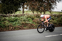 Dylan van Baarle (NED/Ineos)<br /> Elite Men Individual Time Trial<br /> from Northhallerton to Harrogate (54km)<br /> <br /> 2019 Road World Championships Yorkshire (GBR)<br /> <br /> ©kramon