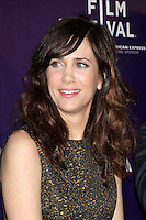 April 21, 2012  Kristen Wiig attends the premiere of  Revenge for Jolly -2012 Tribeca Film Festival at the Chelsea Clearview Cinemas  in New York City. ©RW/MediaPunch Inc.