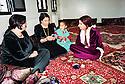 Syria 2000 <br /> A wealthy Kurdish family of Qamishli in their living-room   <br /> <br /> Syrie 2000 <br /> Une famille kurde aisée dans leur salon a Qamishli