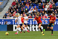 HARRISON, NJ - MARCH 08: Julie Ertz #8 of the United States during a game between Spain and USWNT at Red Bull Arena on March 08, 2020 in Harrison, New Jersey.