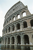Italy: Rome--The Coloseum.
