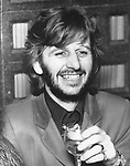 """The Beatles  1972 Ringo Starr at """"Born To Boogie"""" premiere.© Chris Walter....."""