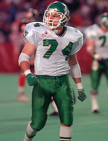 Dan Rashovich Saskatchewan Roughriders 1992. Photo Scott Grant