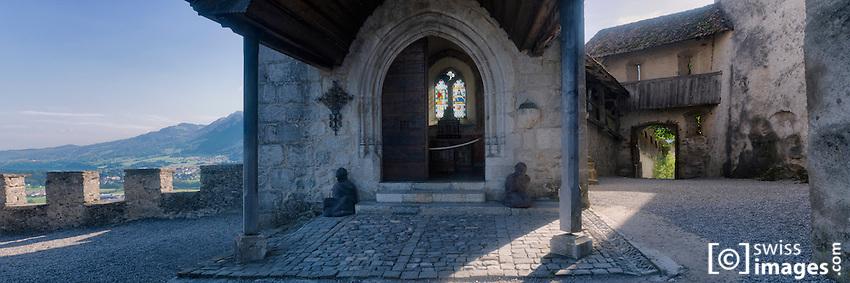 """""""Château de la Gruyère""""'s chapel"""