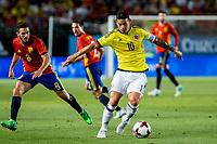 James Rodriguez of Colombia during the friendly match between Spain and Colombia at Nueva Condomina Stadium in Murcia, jun 07, 2017. Spain. (ALTERPHOTOS/Rodrigo Jimenez) (NortePhoto.com) (NortePhoto.com)