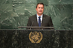 Luxembourg<br /> H.E. Mr. Xavier Bettel<br /> Prime Minister<br /> <br /> General Assembly Seventy-first session, 17th plenary meeting<br /> General Debate