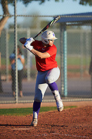 Seth Sanchez (50), from Weslaco, Texas, while playing for the Red Sox during the Under Armour Baseball Factory Recruiting Classic at Red Mountain Baseball Complex on December 29, 2017 in Mesa, Arizona. (Zachary Lucy/Four Seam Images)