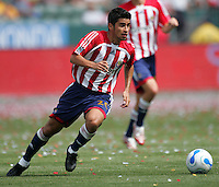 Chivas USA MID Paulo Nagamura (26) during a MLS game. LA Galaxy played the Chivas USA to a 1-1 draw at the Home Depot Center in Carson, California, May 20, 2007.