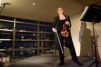 Launch of SOLO labum, by Canadian Violonist Angele Dubeau.<br /> This album celebrate 30 years of the musician professional carrer.<br /> <br /> Lancement de l'album SOLO, de la Violoniste Angele Dubeau.<br /> Cet album célèbre les 30 ans de carrière professionelle de la musicienne<br /> <br /> Toutes les œuvres musicales ont été spécialement choisies par Angèle, commenÕant par L'Arte del violino de Locatelli datée de 1733, année où son célèbre instrument, le Stradivarius Des Rosiers, a été faÕonné. De là un voyage à travers le temps et l'espace qui nous emmène par autant de voies différentes que de compositeurs: époques baroque, classique et romantique, à la musique contemporaine, d'inspiration folklorique, jazz et tango. La sélection inclut la Suite pour orchestre Opus 9 no. 1 de George Enescu, dans une version pour violon seul, trois Études-Tango d'Astor Piazzolla, Divertimento pour violon seul de Campagnoli, et du compositeur canadien Srul Irving Glick, l'oeuvre méditative et poétique Sérénade et Danse pour violon seul. Du grand compositeur et pianiste jazz, Dave Brubeck, on retrouve Bourree pour violon seul, un mariage harmonieux du jazz et du classique, écrite en 1999 et enregistrée pour la première fois par Angèle au Festival International de Jazz de Montréal en 2002. « C'est à cette occasion qu'Angèle m'avait surpris et ravi par son interprétation solo remarquable… » a déclaré Brubeck. On retrouve également sur le CD, narré en franÕais et en anglais par les acteurs Pierre Lebeau et Blair Williams, Ferdinand le taureau, un conte musical pour violon seul et narrateur du compositeur Alan Ridout.<br /> <br /> Musicienne depuis l'âge de 15 ans et ayant un nom connu de tout le pays, Angèle a vendu plus de 300 000 disques en carrière et est l'une des rares solistes canadiennes en musique classique à se voir décerner un Disque d'or pour des ventes record de 50 000 copies en un an. Les riches arrangements sur les récents albums avec l'ens