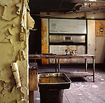 The Kitchen and Bakery of an Abandoned Inn in the Pocono's of Pennsylvania