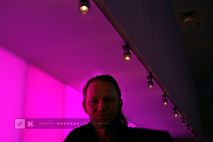 Architect Eike Becker.....Art Basel invades Miami every year in December. This is it's fifth year in South Florida. Galleries from all around the world come to Miami to show their latest works. Over $100 million worth of art was sold during the week of December 7-10.