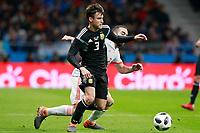 Spain's Daniel Carvajal (r) and Argentina's Nicolas Tagliafico during international friendly match. March 27,2018.(ALTERPHOTOS/Acero) /NortePhoto.com NORTEPHOTOMEXICO