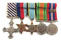 Exploits of a hero Bomber Command navigator revealed after his medals and logbooks emerged for sale.