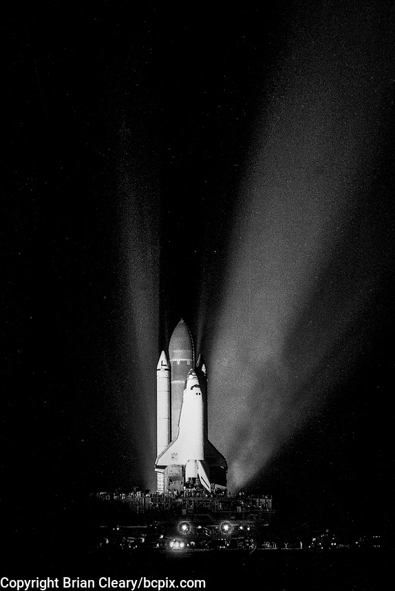 Space Shuttle  Discovery, STS 26 Mission, September 1988, Kennedy Space Center, Titusville, FL.  (Photo by Brian Cleary/bcpix.com)
