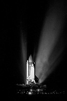 STS 26 Launch, Space Shuttle Discovery, September 1988