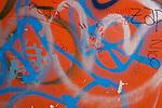 Graffiti & peeling paint, Ushuaia, Argentina