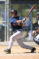 March 21st 2008:  Phillip Britton of the Atlanta Braves minor league system during Spring Training at Tiger Town in Lakeland, FL.  Photo by:  Mike Janes/Four Seam Images