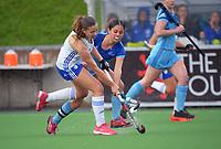 Auckland Blue v Northland. 2021 National Women's Under-18 Hockey Tournament day three at National Hockey Stadium in Wellington, New Zealand on Tuesday, 13 July 2021. Photo: Dave Lintott / lintottphoto.co.nz https://bwmedia.photoshelter.com/gallery-collection/Under-18-Hockey-Nationals-2021/C0000T49v1kln8qk