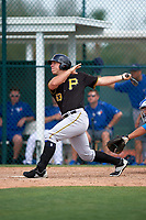 Pittsburgh Pirates Michael Suchy (83) during a minor league Spring Training game against the Toronto Blue Jays on March 24, 2016 at Pirate City in Bradenton, Florida.  (Mike Janes/Four Seam Images)