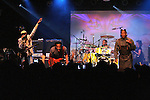 Vernon Reid, Corey Glover, Will Calhoun and Doug Wimbish of Living Colour in concert at the Highline Ballroom in New York on October 30, 2009. © Lia Chang