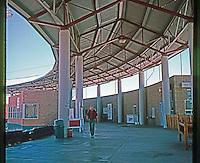 Ballparks: Adelanto, CA. Maverick's Stadium, home of High Desert Mavericks, CA league. 3 skyboxes on 1st base side, 3 on 3rd--none visible.