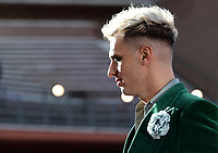 """Italian singer Achille Lauro poses on the red carpet of the movie """"Anni Da Cane"""" at the16th edition of the Rome Film Fest in Rome, on October 19, 2021.<br /> UPDATE IMAGES PRESS/Isabella Bonotto"""