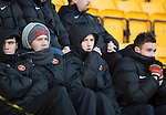 St Johnstone v Dundee United.....29.12.13   SPFL<br /> Ryan Gauld looks on from the stands<br /> Picture by Graeme Hart.<br /> Copyright Perthshire Picture Agency<br /> Tel: 01738 623350  Mobile: 07990 594431