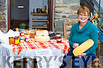 Wilma Silivius O'Connor from Wilma's Killorglin Famouse Cheese in Killorglin who is still selling Cheese and other farmers market products at her premises