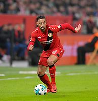 12.01.2018,  Football 1.Liga 2017/2018, 18. match day, Bayer Leverkusen - FC Bayern Muenchen, in BayArena Leverkusen. Karim Bellarabi (Leverkusen). *** Local Caption *** © pixathlon<br /> <br /> +++ NED + SUI out !!! +++<br /> Contact: +49-40-22 63 02 60 , info@pixathlon.de