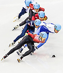 Barton Lui Pan-to of Hong Kong competes at the Men's 1500m event Short Track Speed Skating during the 2014 Sochi Olympic Winter Games at Iceberg Skating Palace on February 10, 2014 in Sochi, Russia. Photo by Victor Fraile / Power Sport Images