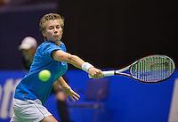 December 17, 2014, Rotterdam, Topsport Centrum, Lotto NK Tennis, Demi Schuurs (NED)<br /> Photo: Tennisimages/Henk Koster