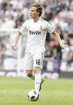 Real Madrid's Sergio Canales during La Liga Match. April 02, 2011. (ALTERPHOTOS/Alvaro Hernandez)