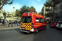 ATTENTAT GARE ST CHARLES - ATTAQUE AU COUTEAU EN GARE ST CHARLES A MARSEILLE . FRANCE , LE 01/10/2017
