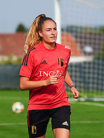 20200911 - TUBIZE , Belgium : Tessa Wullaert pictured during a training session of the Belgian Women's National Team, Red Flames , on the 11th of September 2020 in Tubize. PHOTO SEVIL OKTEM | SPORTPIX.BE