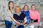 Enjoying the evening in Bella Bia on Friday, l to r: Sophie Brick, Marion Fitzgerald, Scarlett Bees and Caylee Hanafin.
