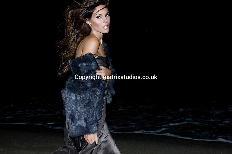 EXCLUSIVE PICTURE: MATRIXSTUDIOS.CO.UK.PLEASE CREDIT ALL USES..WORLD RIGHTS..***FEES TO BE AGREED BEFORE USE***..Beach Fashion Shoot. .REF: ALI 122697