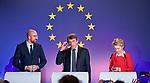 200131: Michel, Sassoli, von der Leyen on Brexit