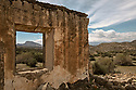 Spain - Andalusia - Remains of an old movie set located in the Tabernas Desert.