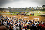 JULY 24, 2021: Scenes from Eddie Read Stakes  day at the Del Mar Fairgrounds in Del Mar, California on July 24, 2021. Evers/Eclipse Sportswire/CSM