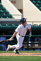 Detroit Tigers Colt Keith (4) bats during a Florida Instructional League intrasquad game on October 17, 2020 at Joker Marchant Stadium in Lakeland, Florida.  (Mike Janes/Four Seam Images)